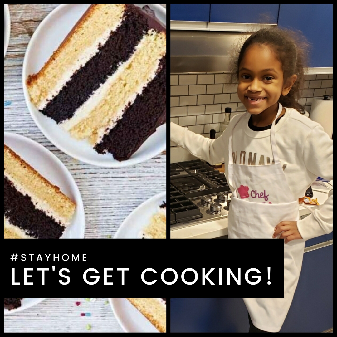 #StayHome: Lets Get Cooking: My Amazing Little Cook's Favorite Cake Recipe