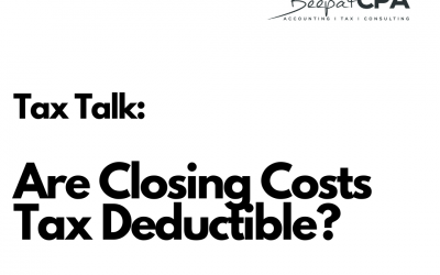 What Closing Costs are Tax Deductible?